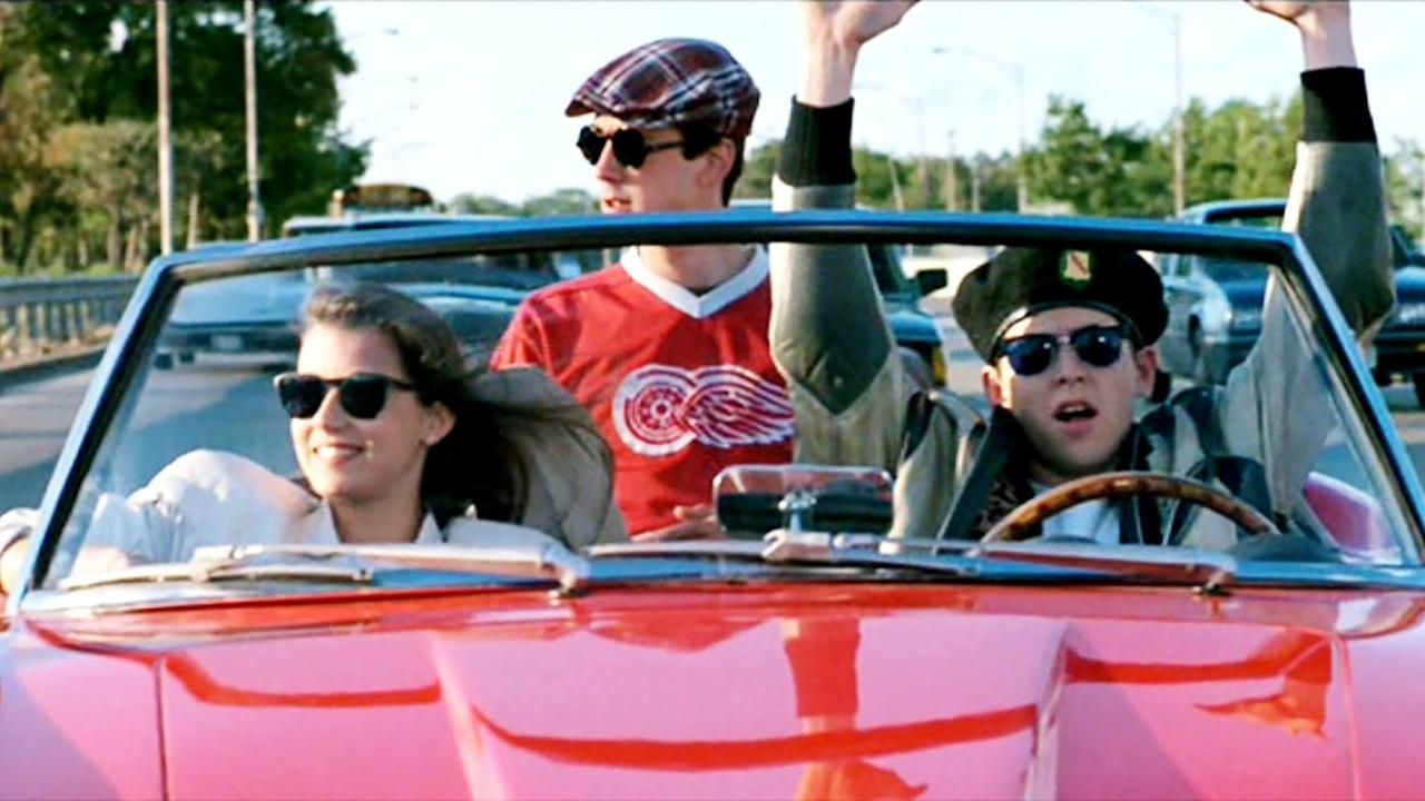 """<p><a class=""""body-btn-link"""" href=""""https://www.netflix.com/title/498716"""" target=""""_blank"""">WATCH NOW</a></p><p>Spend the day with a wise-cracking Ferris (Matthew Broderick), his best friend (Alan Ruck), and his girlfriend (Mia Sara) as they skip school to embark on a day full of adventure in this quintessential coming-of-age comedy.  </p>"""