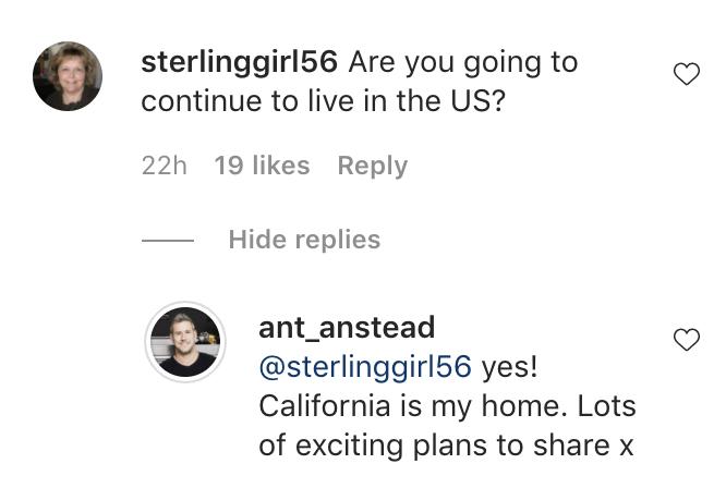 Photo credit: Instagram / Ant Anstead