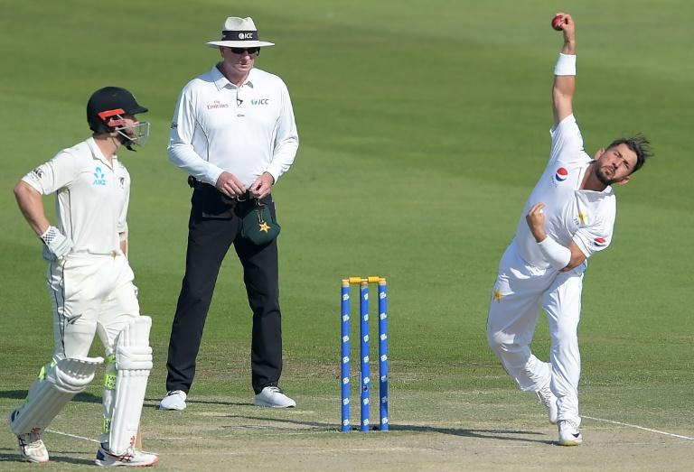 Pakistani leg-spinner Yasir Shah is the quickest to reach 200 wickets in Test cricket