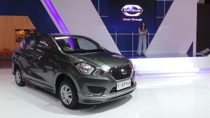 Datsun resmi memperkenalkan varian tertinggi dari produk LCGC yang diberi nama Go+ Panca T-Style.