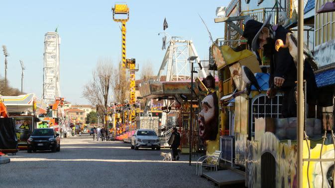 Aturan Pencegahan Virus Corona Diperketat di Wilayah Lombardy, Italia