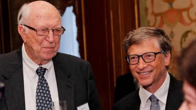 Ayah Bill Gates dan Bill Gates | Dok: businessinsider.com