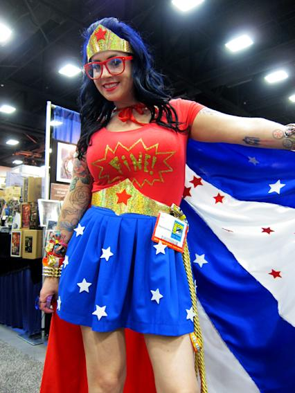 This Wonder Woman is fine! - San Diego Comic-Con 2012