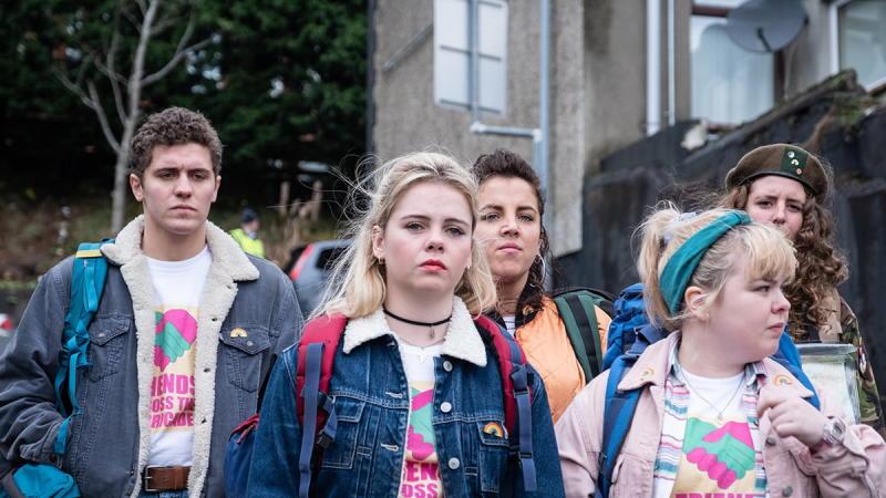 Derry Girls on Netflix