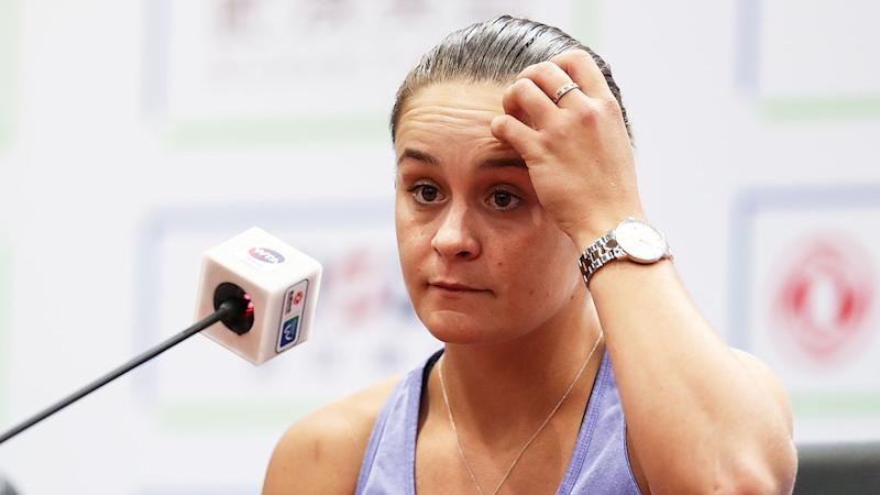 Sabalenka upsets Barty to set up Wuhan final showdown with Riske