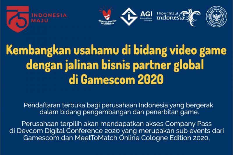 Pengembang game lokal diajak ikut ajang internasional Gamescom 2020