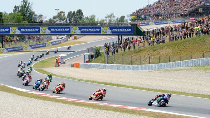 Peluang Indonesia menggelar seri balap MotoGP semakin mengecil setelah Dorna Sports mengumumkan Finlandia masuk kalender musim 2018, Minggu (17/7/2016). (Crash)