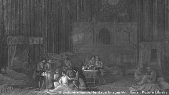 Kisah Mengerikan Wabah Sampar 1665 di London