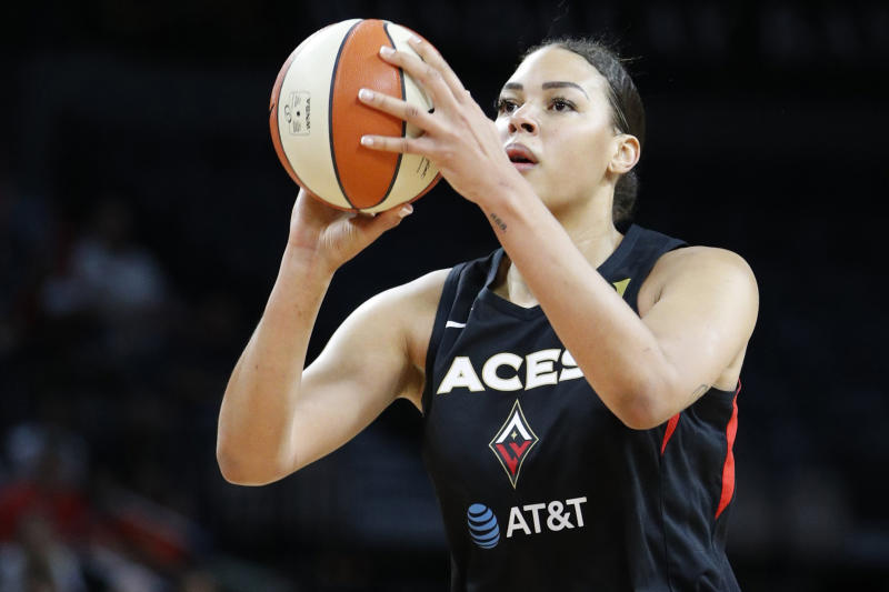 Aces-Cambage Basketball