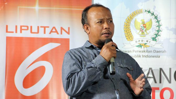 Pengurus Harian Yayasan Lembaga Konsumen Indonesia (YLKI), Tulus Abadi