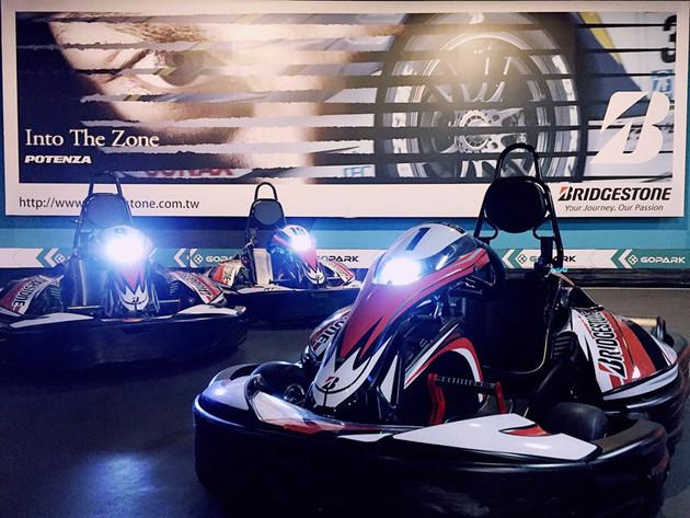 想當賽車手欠機會?普利司通&GOPARK卡丁樂園幫你圓夢!