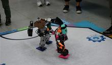 二足機器人賽 華夏科大雙料冠軍