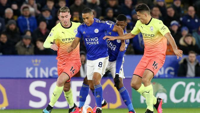 Leicester City Vs Manchester City. (Dok. Leicester City)