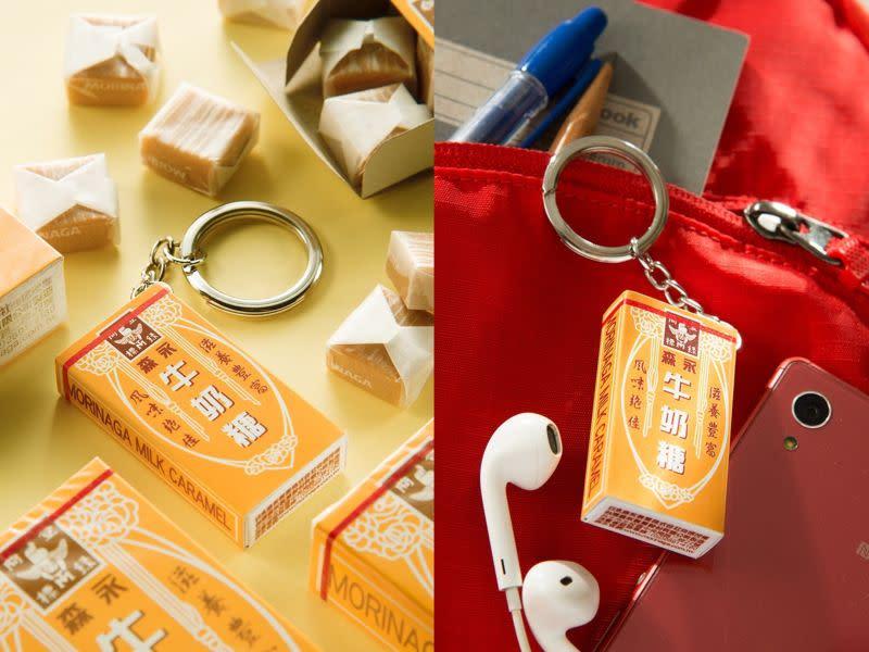 ▲悠遊卡公司推出「森永牛奶糖 3D 造型悠遊卡」,即日起可在 4 大超商預購。(圖/悠遊卡公司)
