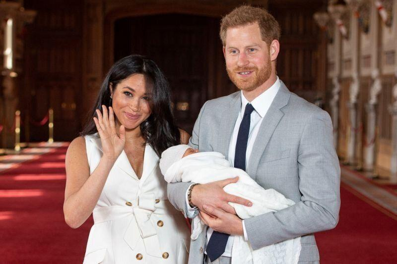 Harry and Meghan introduced Archie on the 8th of May. Photo: Getty images