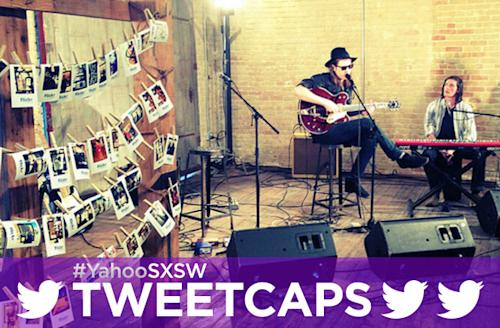 SXSW '13 Tweetcap: Diamond Rings, Pyramids, And Jamie N Commons At Yahoo! HQ