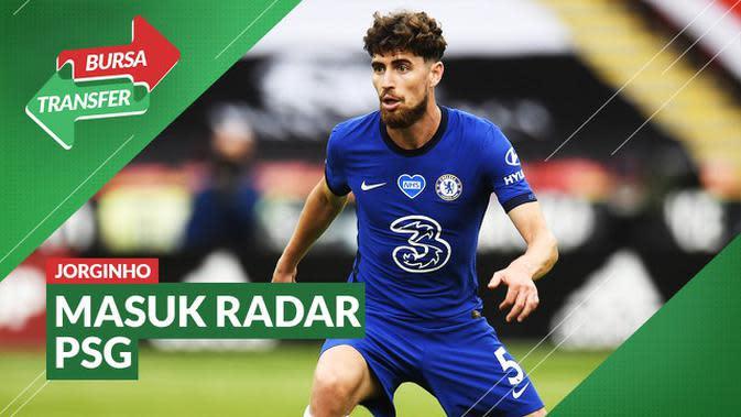 VIDEO Bursa Transfer: Kalah bersaing di Chelsea, Jorginho Dilirik PSG