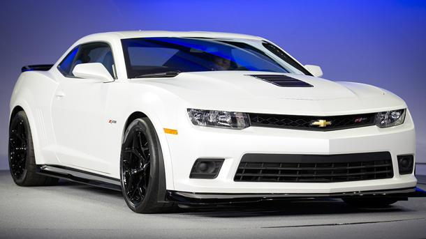2014 Chevrolet Camaro Z/28: the legend returns with more than 500 hp