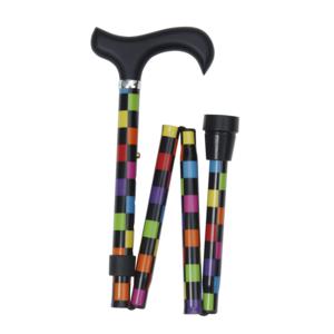Classic Canes 可摺式手杖 ﹣ 彩色方格