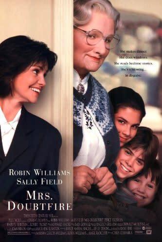 Mrs Doubtfire. Image via IMDB.