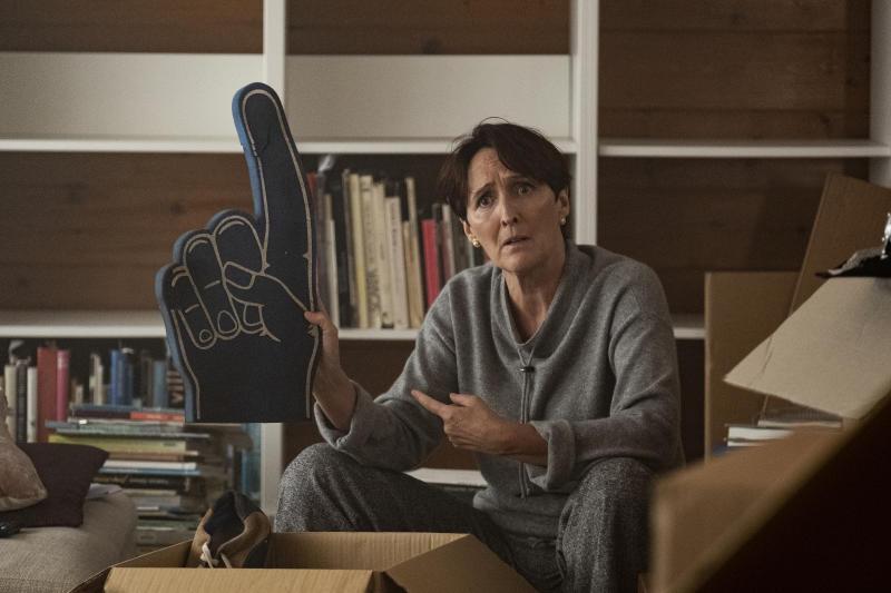 Fiona Shaw as Carolyn Martens - Killing Eve _ Season 3 - Photo Credit: Nick Wall/BBCA