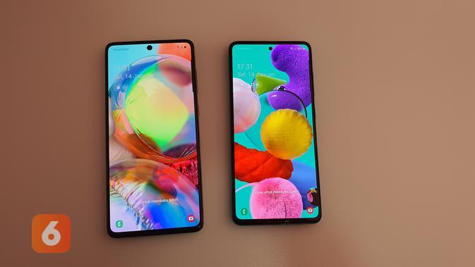 Melihat Tampilan Samsung Galaxy A71 dan Galaxy A51 dengan Warna Baru