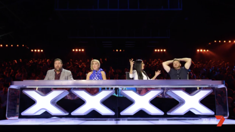 The other two judges Shane Jacobson and Lucy Durack are also absolutely gobsmacked by Apollo Jackson on AGT 2019