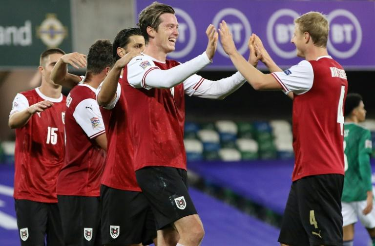 Austria bring Northern Ireland back down to earth