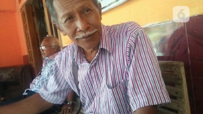 Mbah Slamet, juru kunci makam Syekh Nasher alias Eyang Singomodo. (Foto: Liputan6.com/ joglosemarnews.com / Wardoyo)