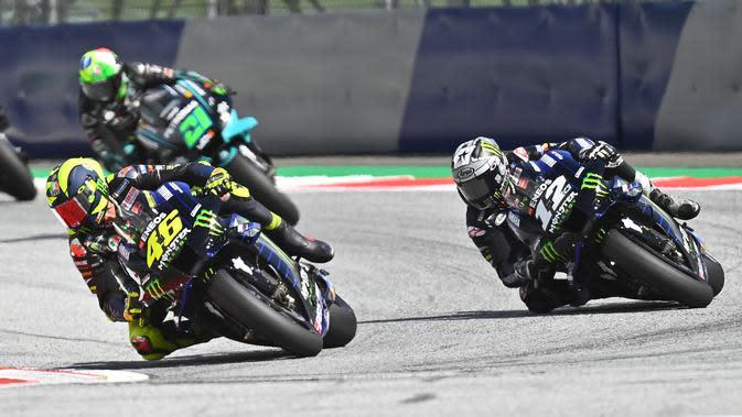 Masalah Rem Menghantui Semua Pembalap Yamaha