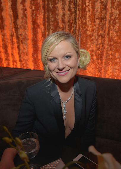 Chopard At The Weinstein Company's 2013 Golden Globe Awards After Party: Amy Poehler