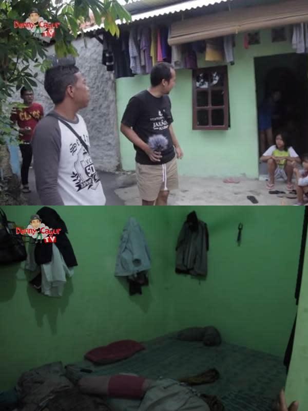 Deretan artis yang sempat ngontrak kini punya rumah sendiri. (Sumber: YouTube/Denny Cagur TV)