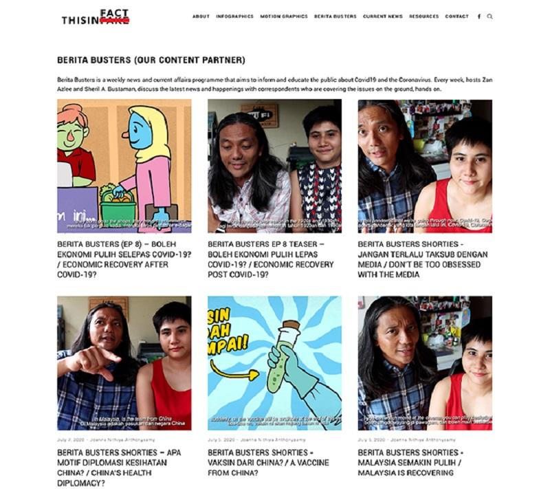 Husband-and-wife team Zan Azlee and Sheril A. Bustaman came up with a website that seeks to provide easy to read and digest credible news and information for Malaysian consumption.