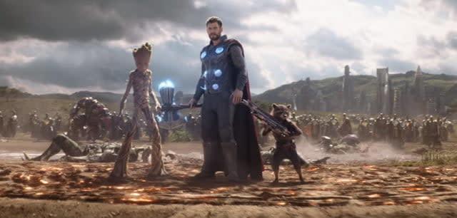 Fortnite Avengers Endgame crossover event Thor stormbreaker
