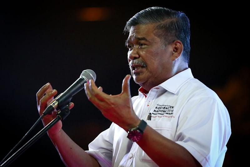 Amanah president Mohamad Sabu said the PH government lost because of the power grab but will continue to work on returning to fulfil the people's mandate from the general election. — Picture by Yusof Mat Isa
