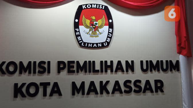 KPU Kota Makassar (Liputan6.com/Fauzan)