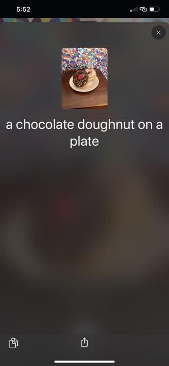vhista iphone app juan david cruz screenshot detailed donut