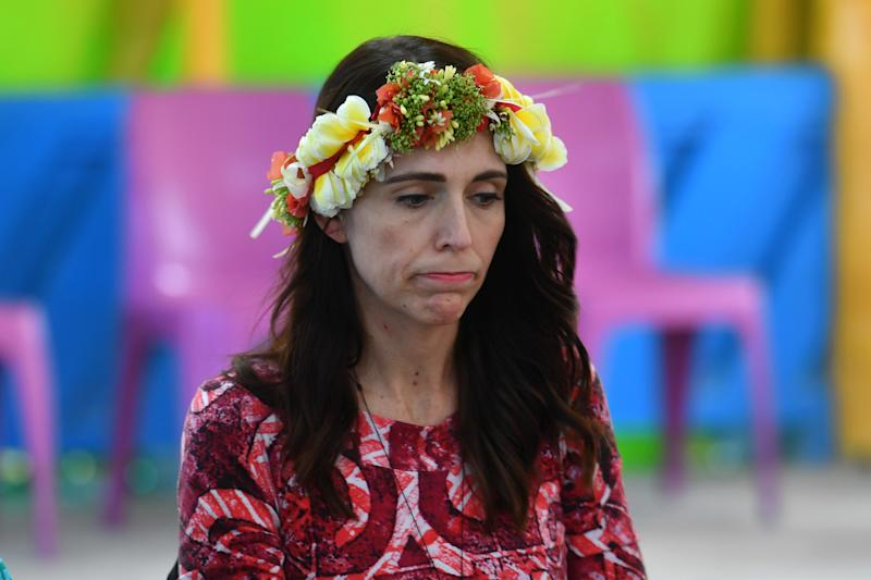 Jacinda Ardern was slammed for appearing to criticise Australia on its response to climate change.