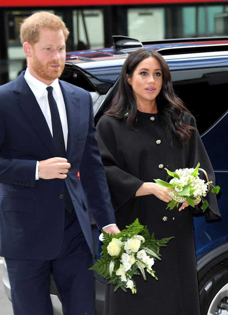 Meghan came out of maternity leave to honour the victims of the Christchurch terror attack.