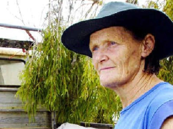Pictured is Gwen Hyde, 69, who died with her husband, Bob Lindsey, in a fire at their home in Coongbar, which was ravaged by the Long Gully bushfire.