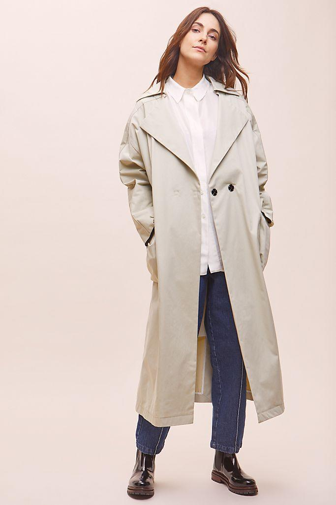 Tela Linda Trench Coat (Anthropologie)