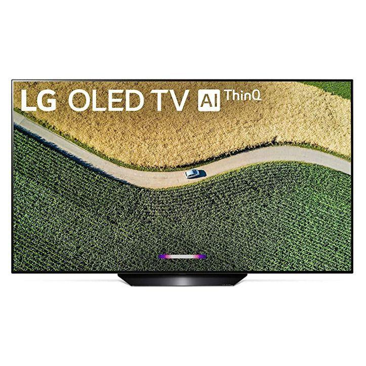 """<p><strong>LG</strong></p><p>amazon.com</p><p><strong>$1999.99</strong></p><p><a href=""""https://www.amazon.com/dp/B07RMSJT4J?tag=syn-yahoo-20&ascsubtag=%5Bartid%7C10055.g.32066100%5Bsrc%7Cyahoo-us"""" target=""""_blank"""">Shop Now</a></p><p>LG TVs feature an impressive      OLED lineup with many different sizes and included features. In general,      <strong>these TVs have a fast response time with low input lag for easy use</strong>. The smart      interface runs on WebOS, which is similar to Samsung as the apps run along      the bottom of the screen. For such high-quality OLED TVs, the price is      quite steep, starting at $1,300. However, the LG OLED picture quality cannot      be beat, especially when watching in the dark.</p>"""