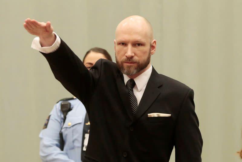 Mass murderer Breivik to apply for parole - report