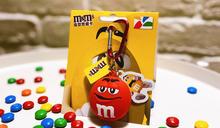 超Q!M&M's巧克力變身造型悠遊卡!