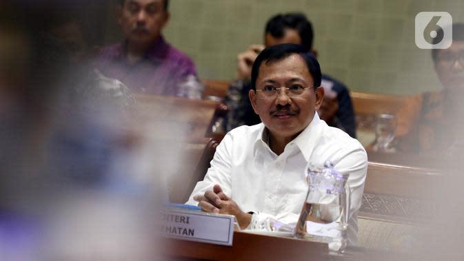 Reaksi Menkes Terawan Saat Dicecar soal Ancaman Reshuffle Kabinet