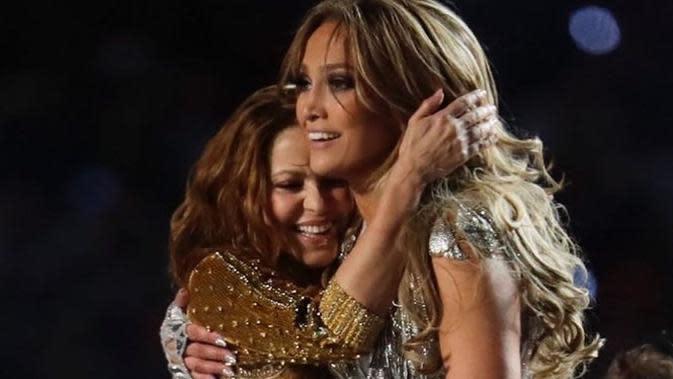 Shakira dan J-Lo (Sumber: Instagram/jlo)