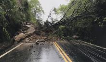 台3線嘉義段土石坍塌 台南麻豆水淹30公分高