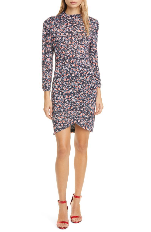 Rebecca Taylor Twilight Ditsy Floral Jersey Dress. Image via Nordstrom.