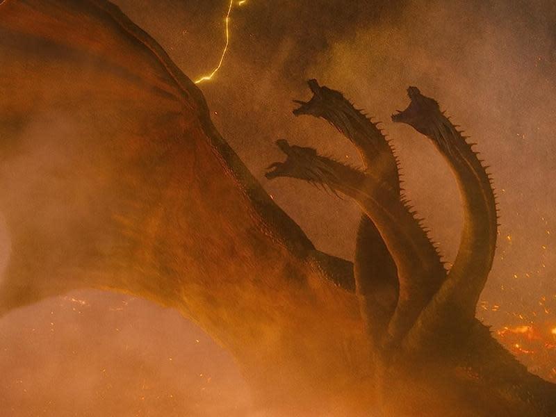 基多拉真的是王者 最巨大的怪獸