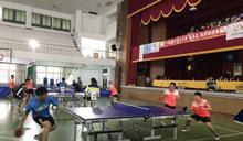 大安區長盃桌球錦標賽開打 6組200選手競技激烈